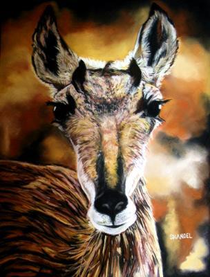 Flickering Toward Extinction