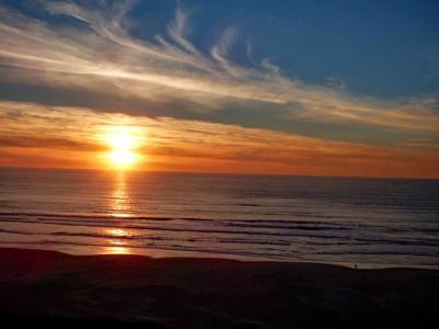 Coastal Fall Sunset