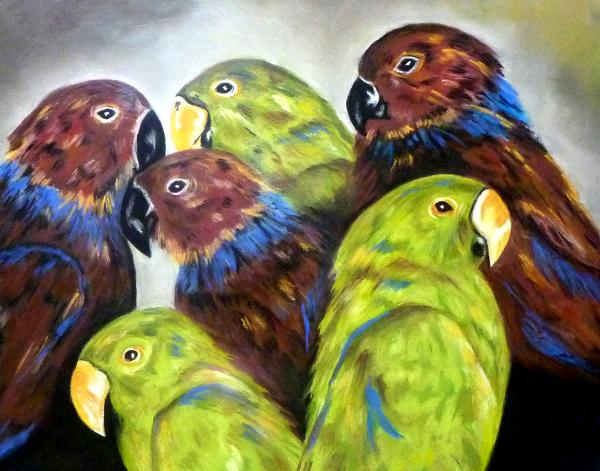 In the Company of Parrots