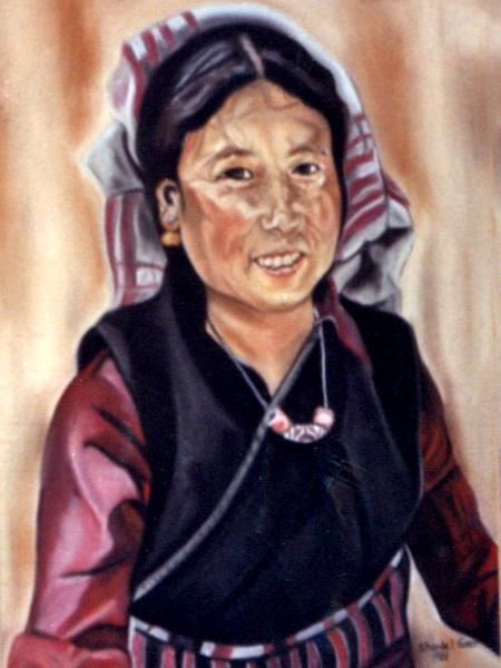 Mongolian Woman